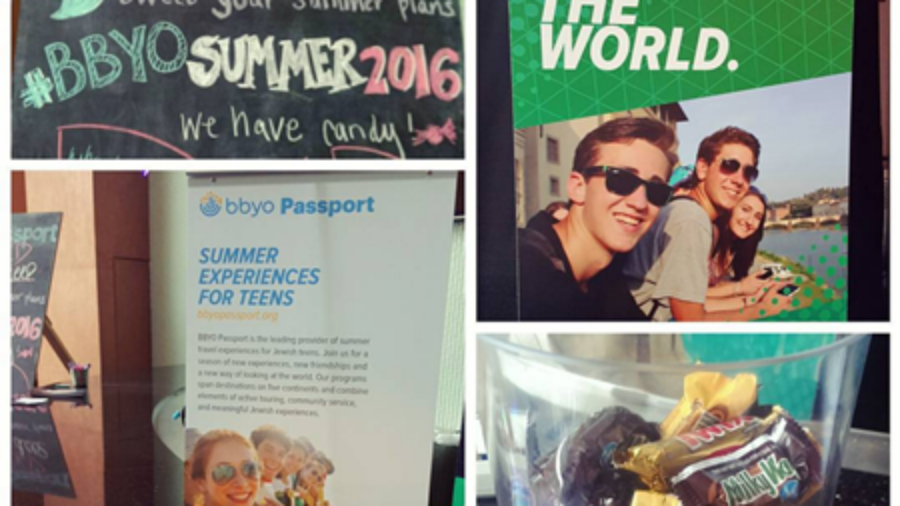 BBYO Passport Represents at IC – Visit the Summer Lounge